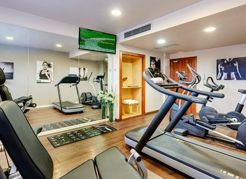 Stay in shape in our gym